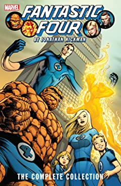 Fantastic Four By Jonathan Hickman: The Complete Collection Tome 1