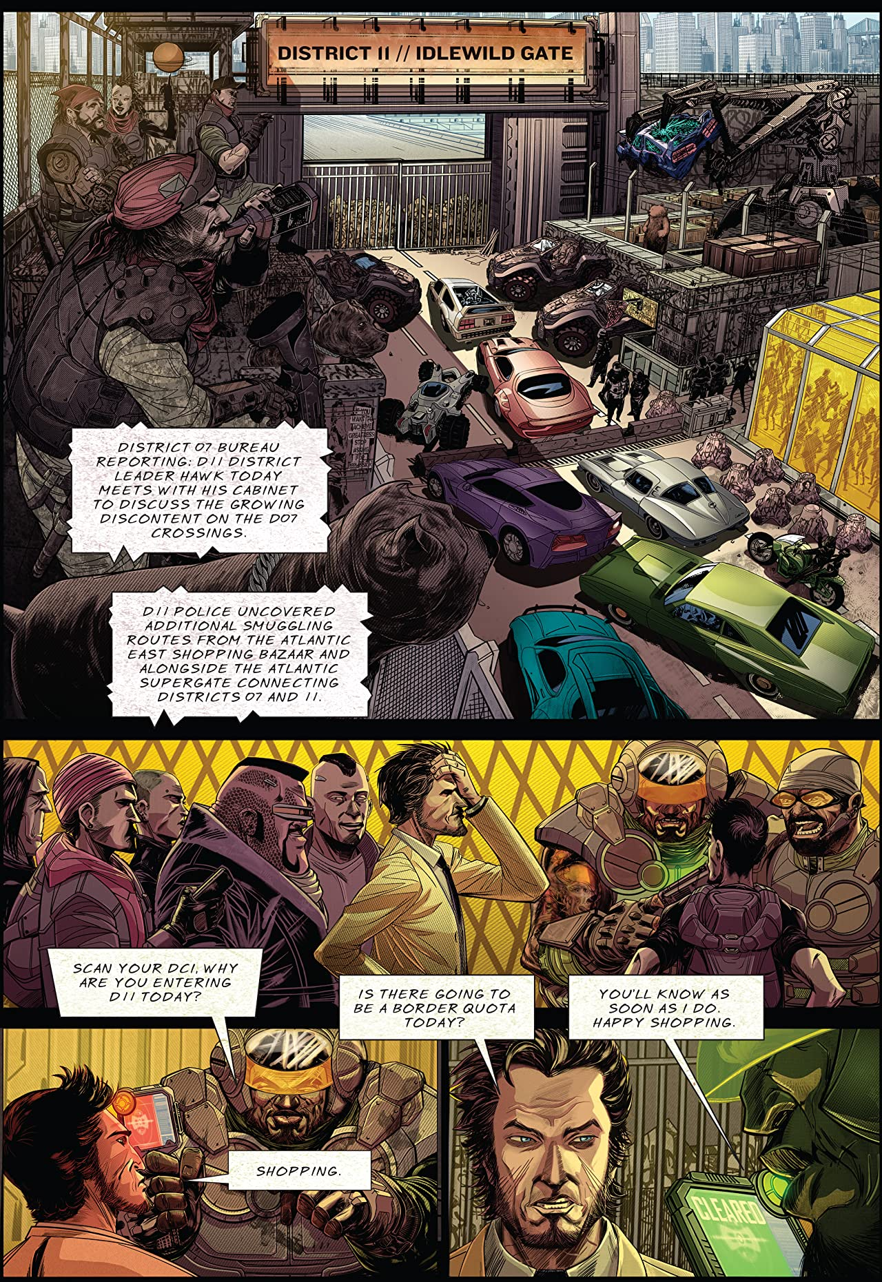 The Gatecrashers #9