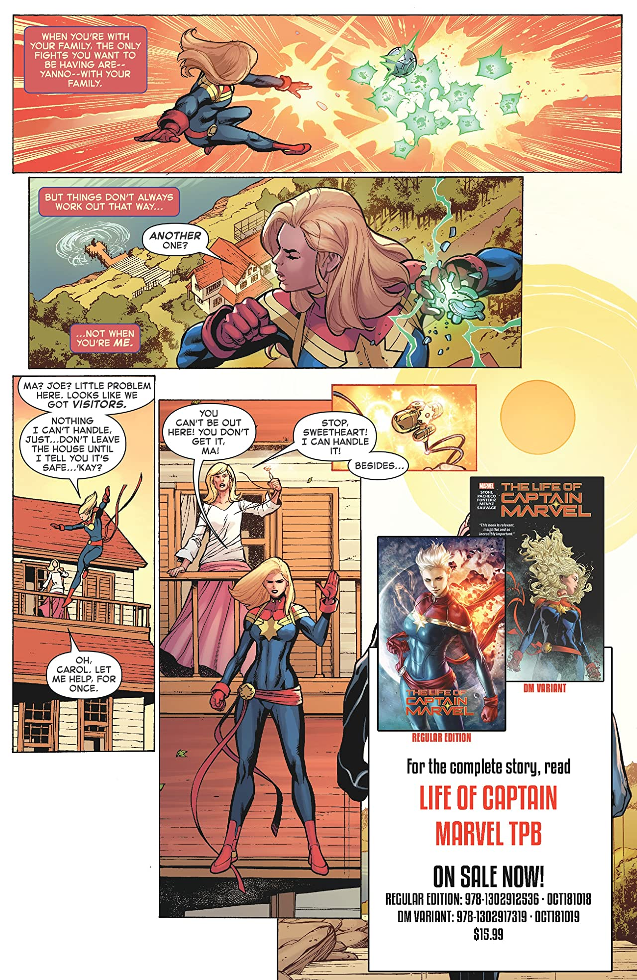Captain Marvel: Start Here Sampler 2019