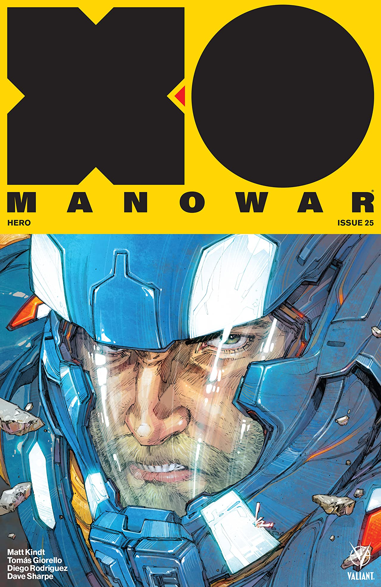 X-O Manowar (2017) No.25