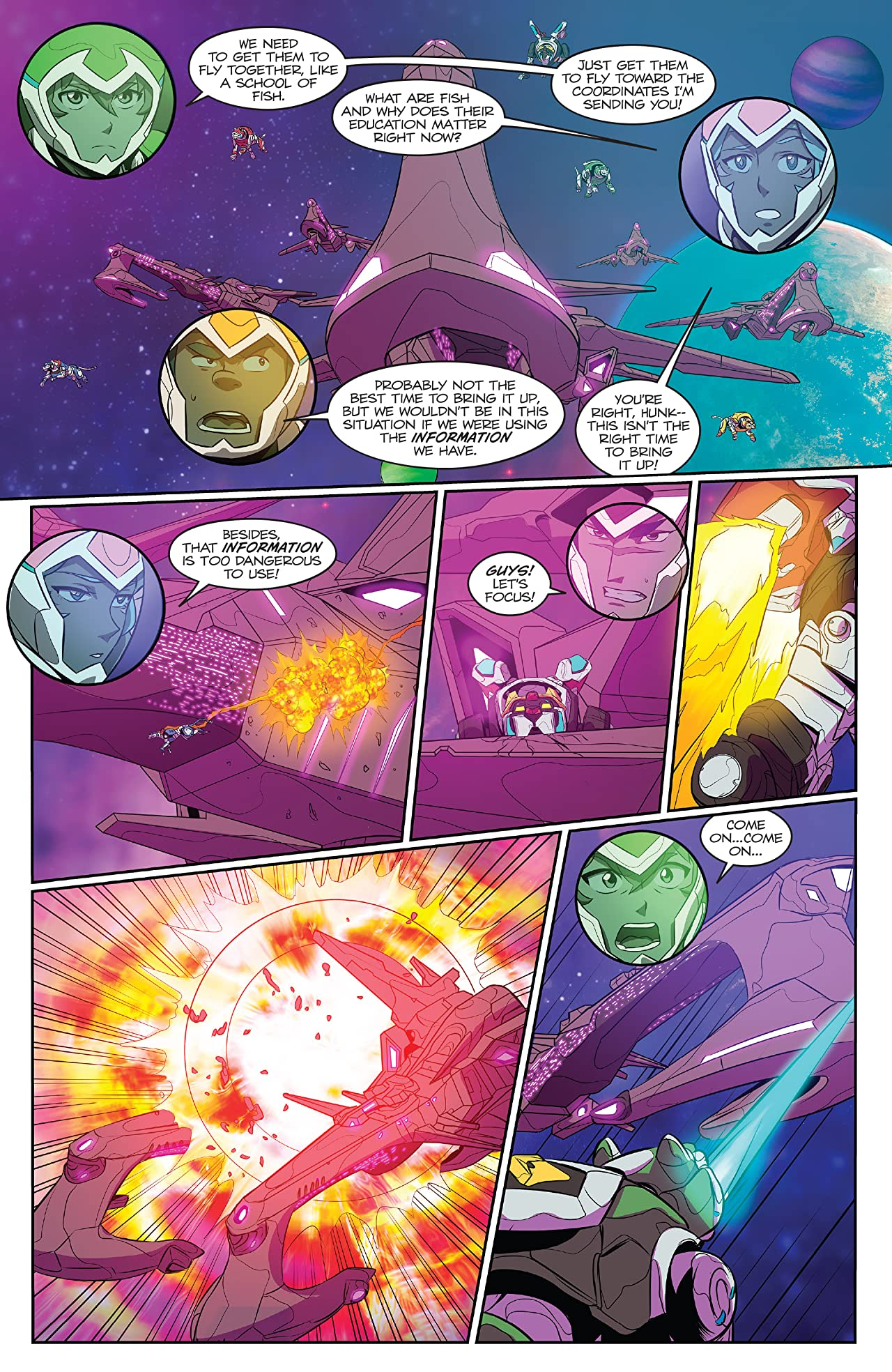 Voltron: Legendary Defender Vol. 3: Absolution