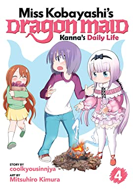 Miss Kobayashi's Dragon Maid: Kanna's Daily Life Vol. 4