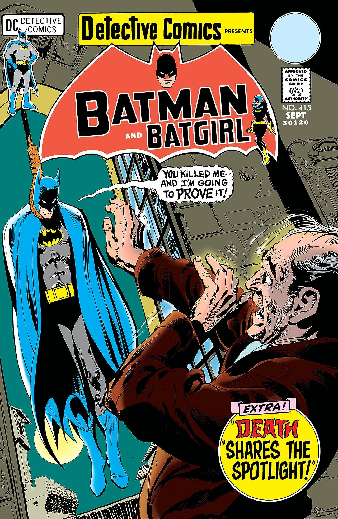 Detective Comics (1937-2011) #415