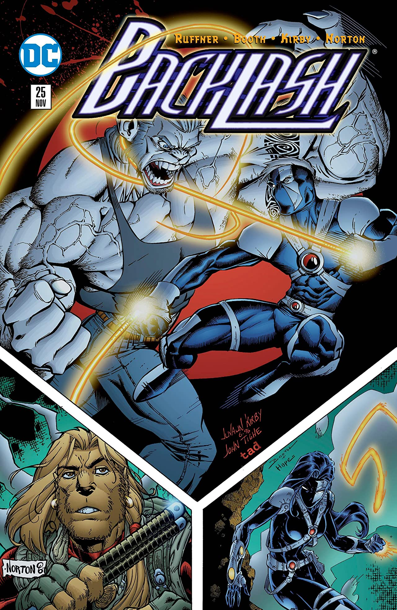 Backlash (1994-1997) #25