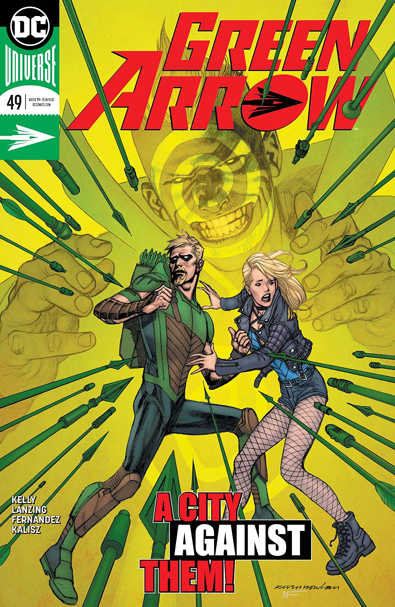 Green Arrow (2016-) No.49