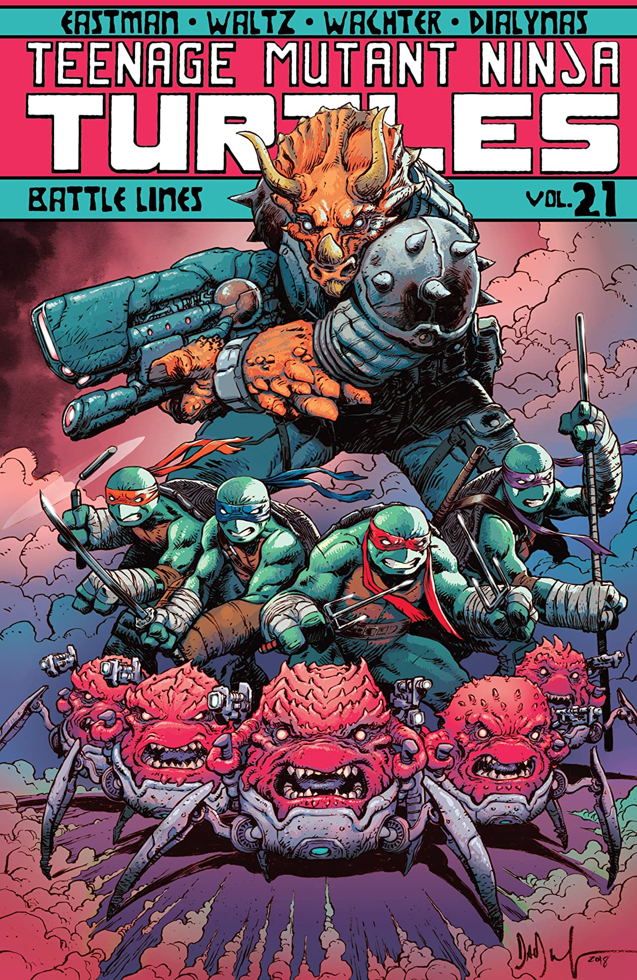 Teenage Mutant Ninja Turtles Vol. 21: Battle Lines