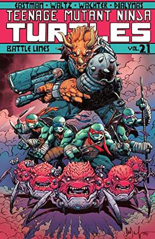 Teenage Mutant Ninja Turtles Tome 21: Battle Lines