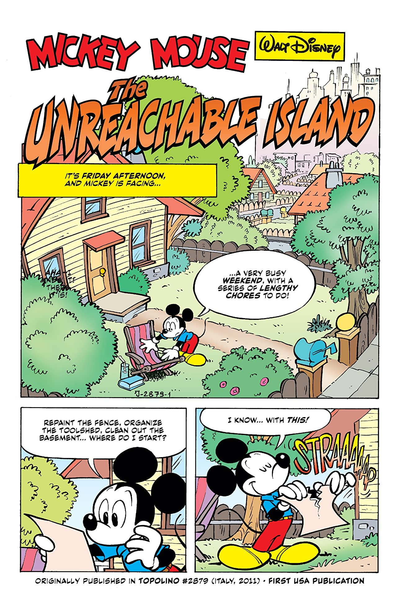 Disney Comics and Stories #4