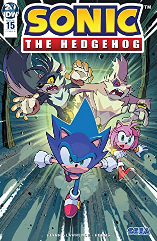 Sonic The Hedgehog (2018-) No.15