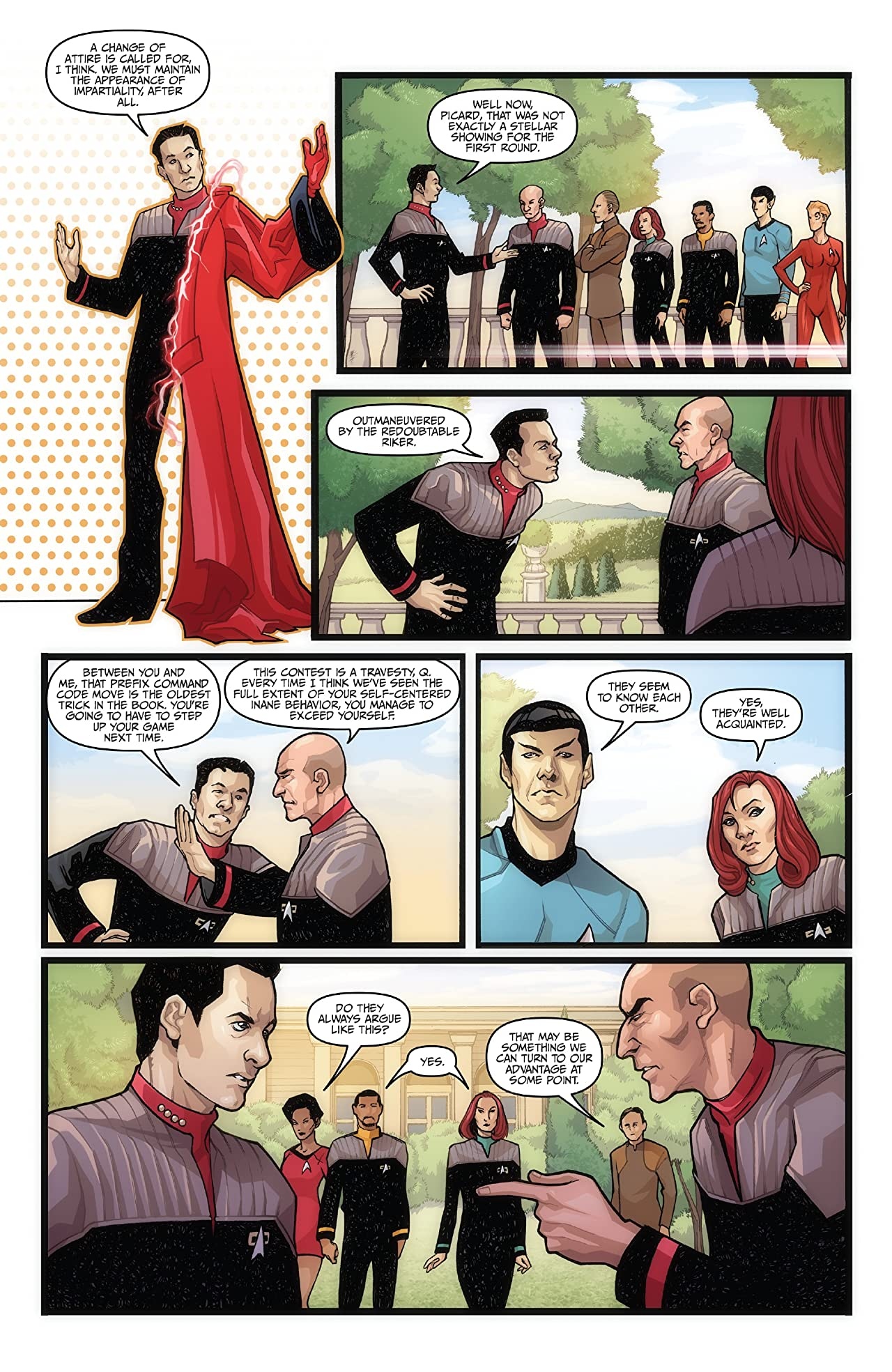 Star Trek: The Q Conflict #3 (of 6)