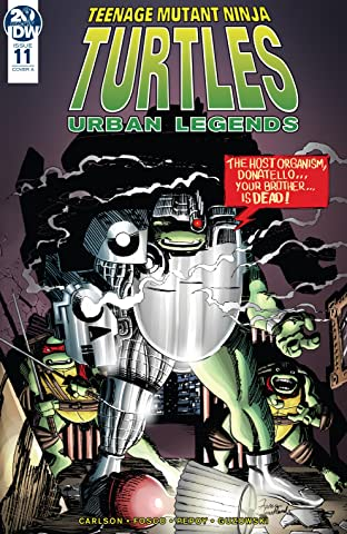 Teenage Mutant Ninja Turtles: Urban Legends #11