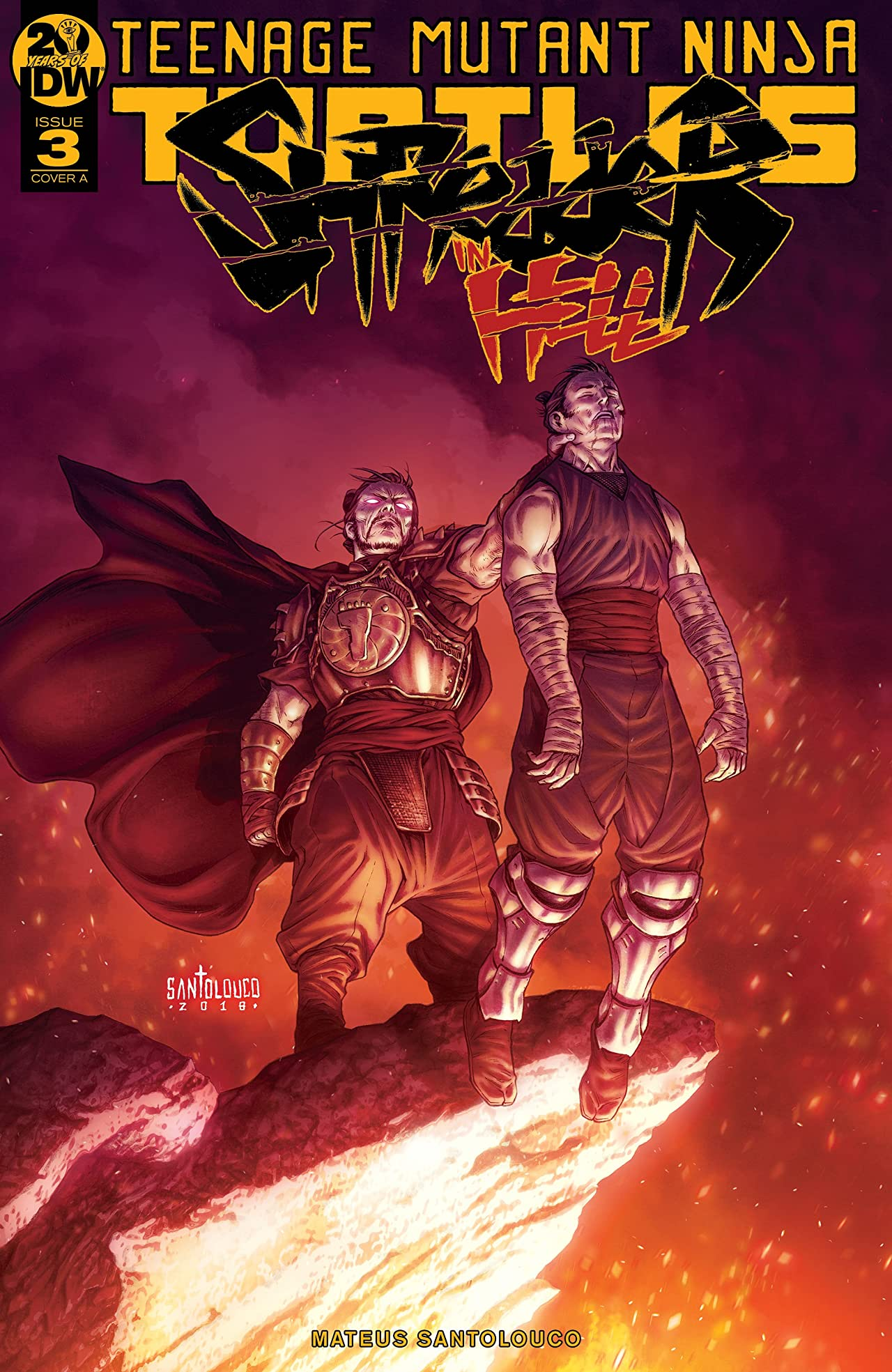 Teenage Mutant Ninja Turtles: Shredder in Hell No.3 (sur 5)