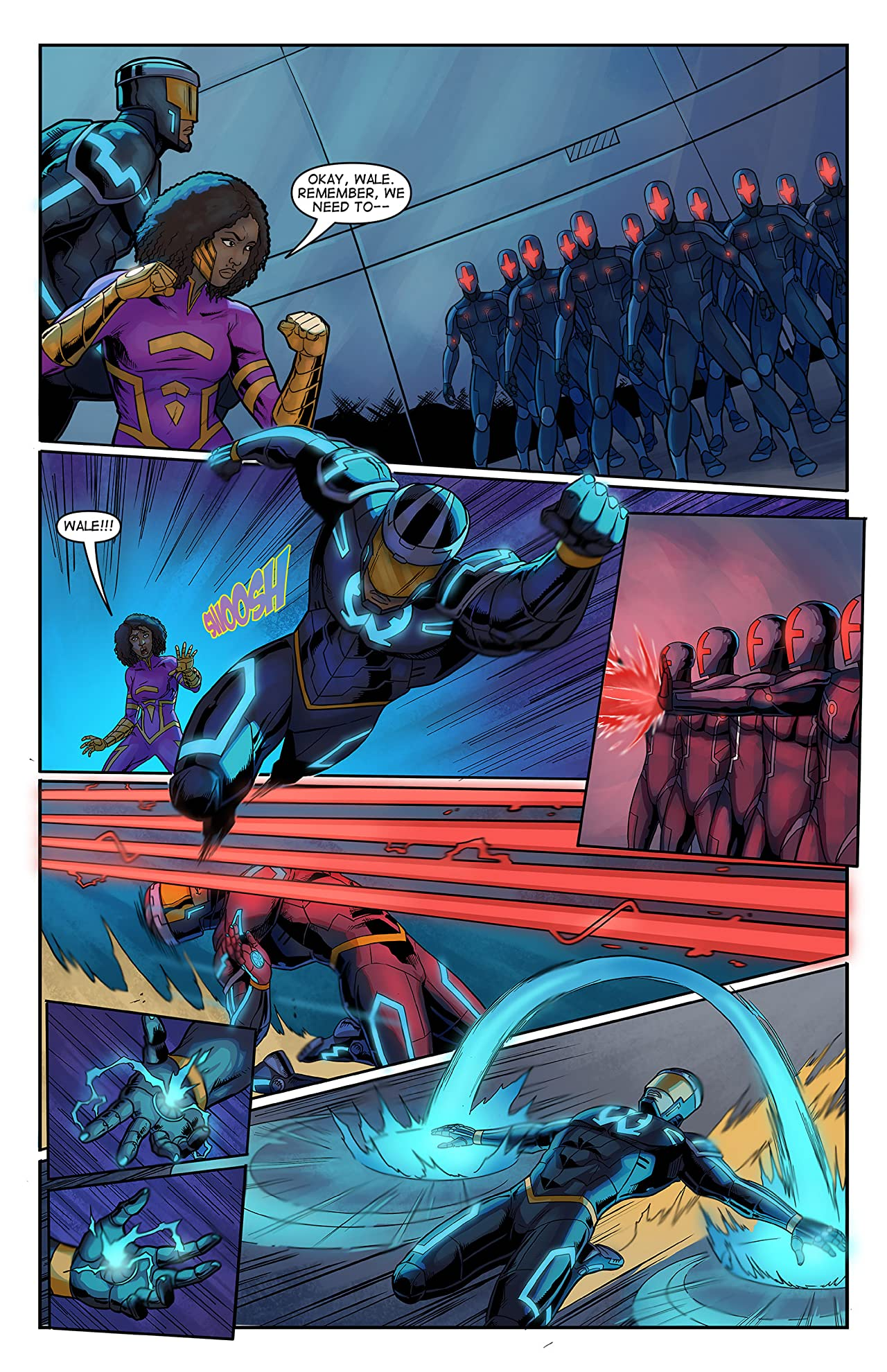E.X.O. - The Legend of Wale Williams Part Three: Rise of AVON