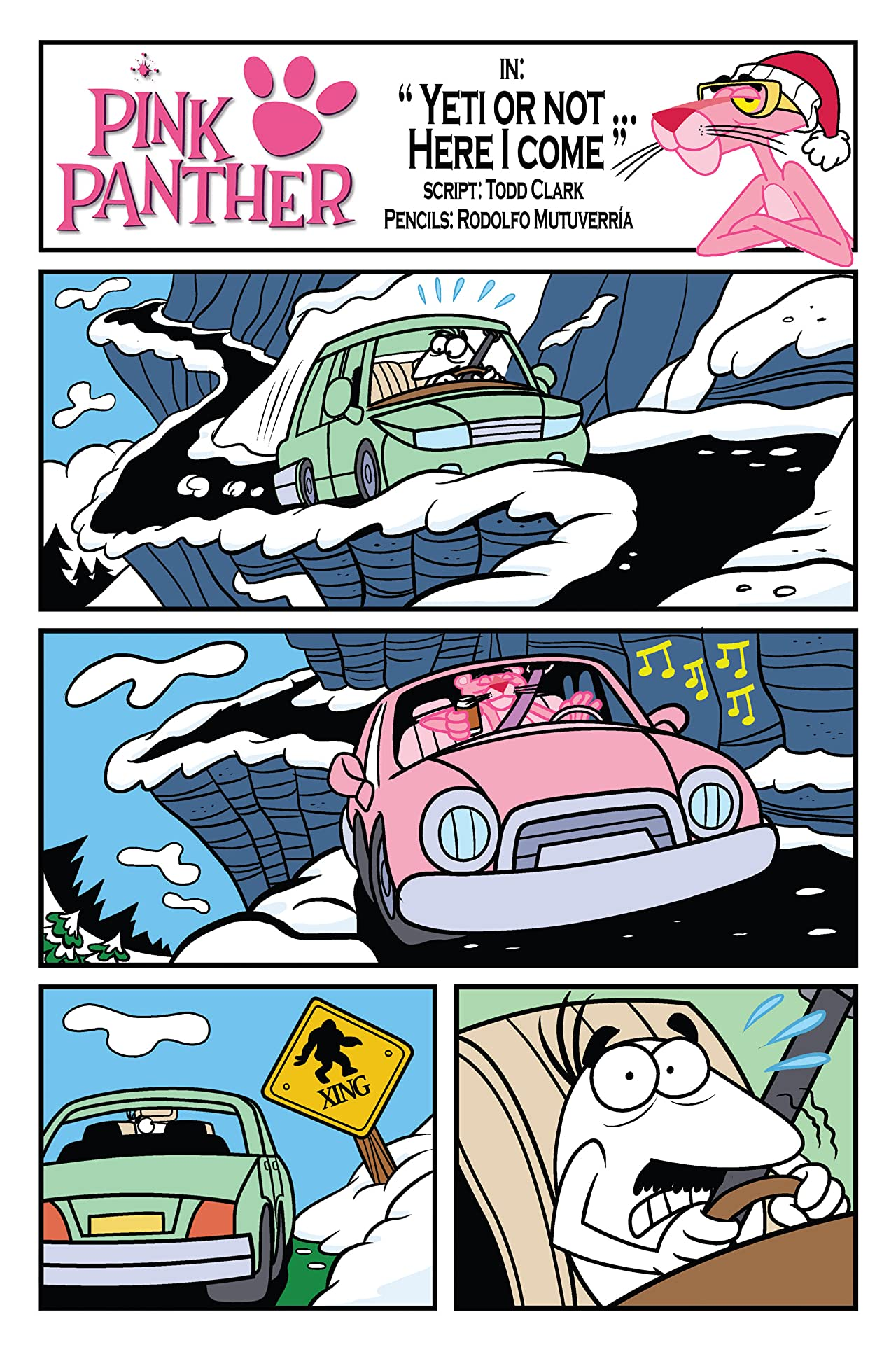 Pink Panther Winter Special #1