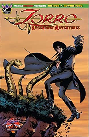 Zorro: Legendary Adventures #2
