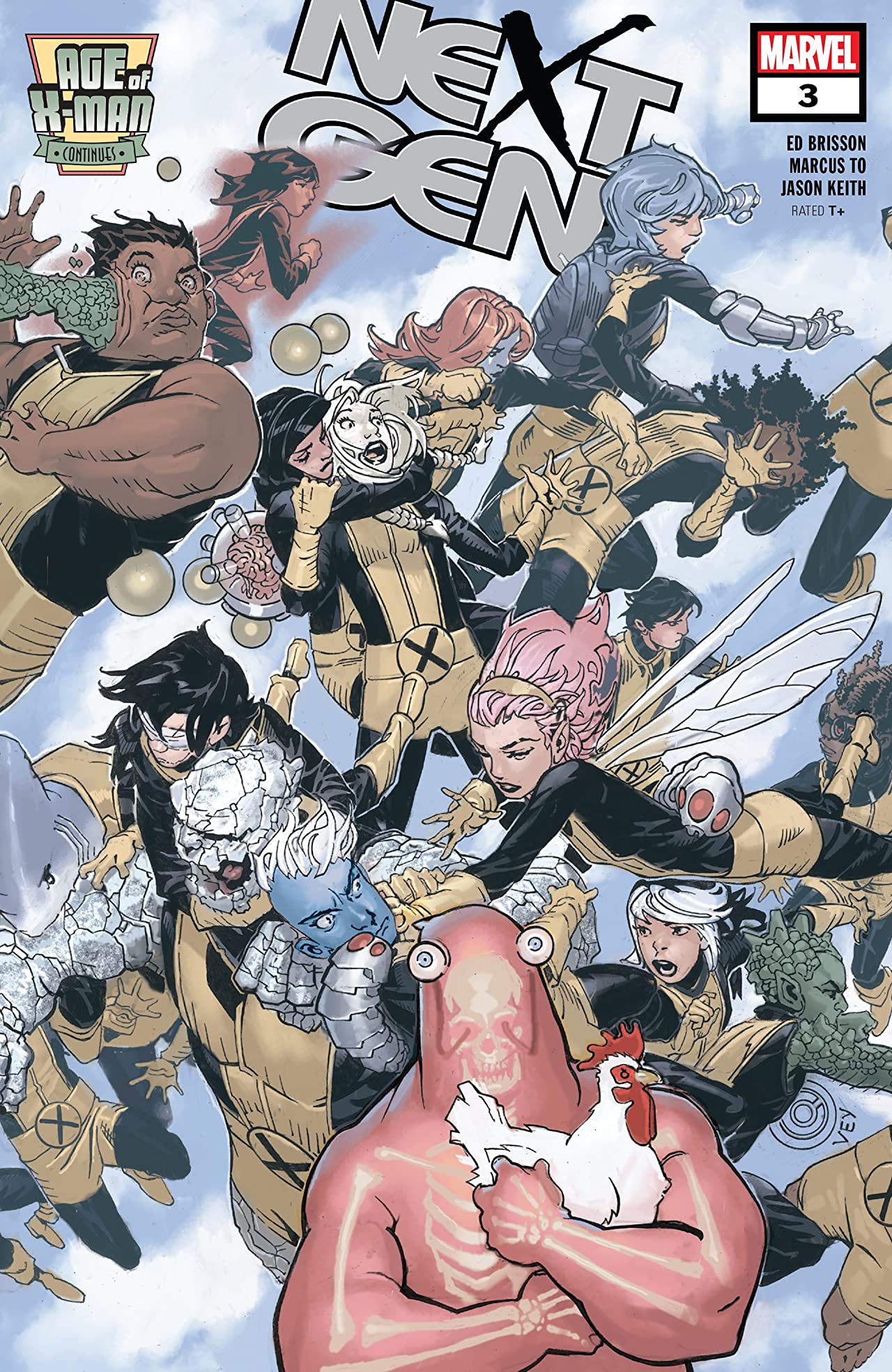 Age Of X-Man: NextGen (2019) No.3 (sur 5)