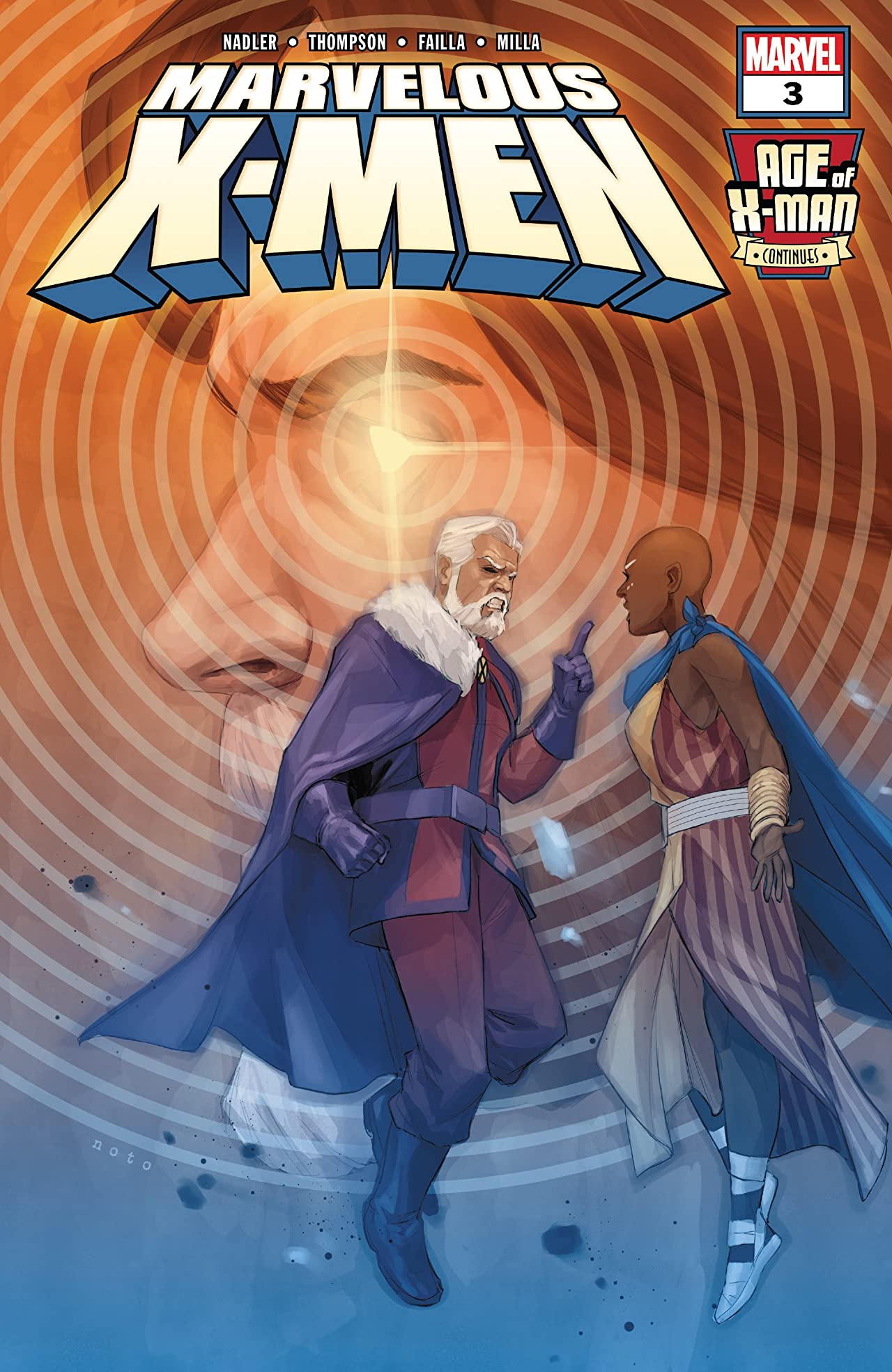 Age Of X-Man: The Marvelous X-Men (2019) No.3 (sur 5)