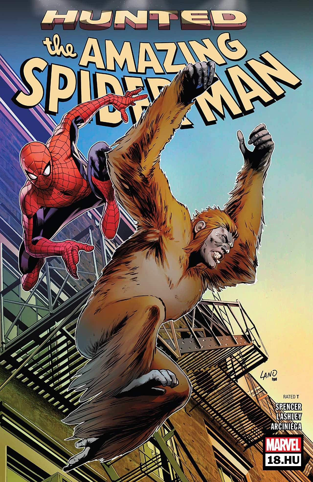 Amazing Spider-Man (2018-) No.18.HU