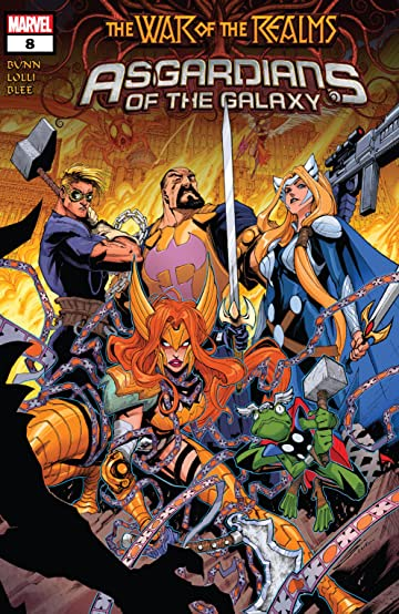 Asgardians of the Galaxy (2018-) No.8