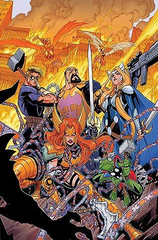Asgardians of the Galaxy (2018-) #8
