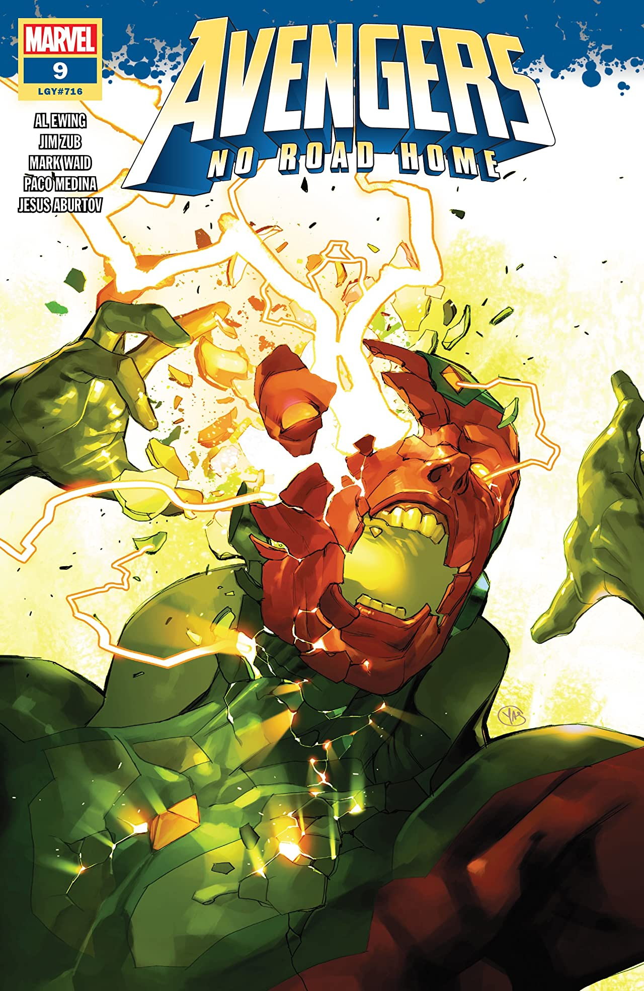 Avengers: No Road Home (2019) No.9 (sur 10)