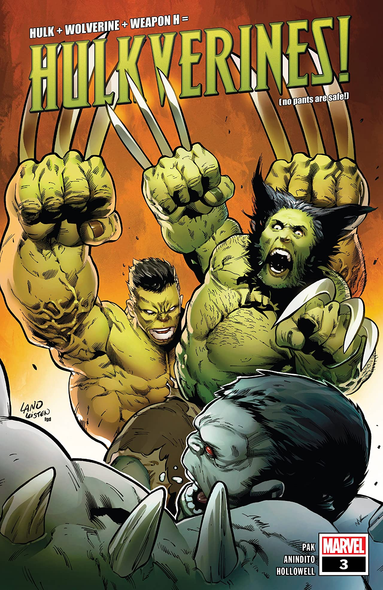Hulkverines (2019) No.3 (sur 3)