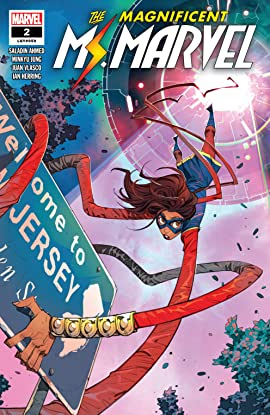 Magnificent Ms. Marvel (2019-) #2