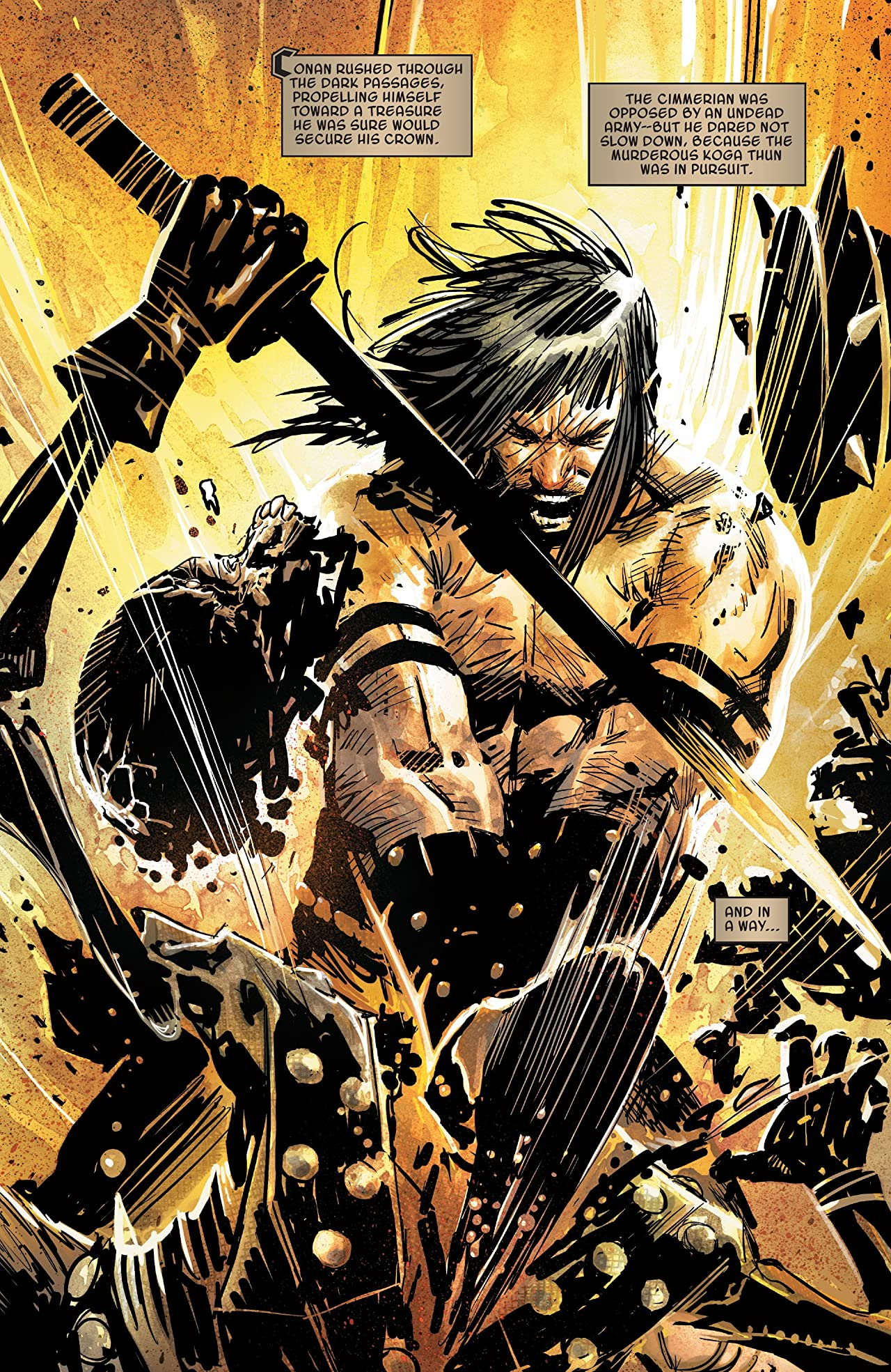 Savage Sword Of Conan (2019-) No.4