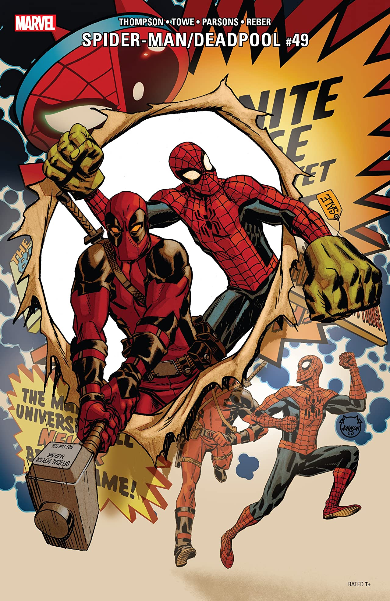 Spider-Man/Deadpool (2016-) No.49