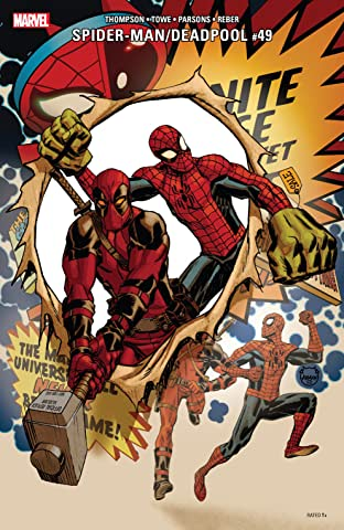 Spider-Man/Deadpool (2016-2019) #49