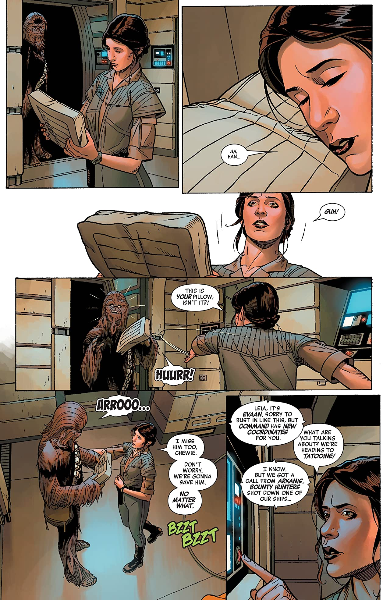 Star Wars: Age Of Rebellion - Princess Leia (2019) #1