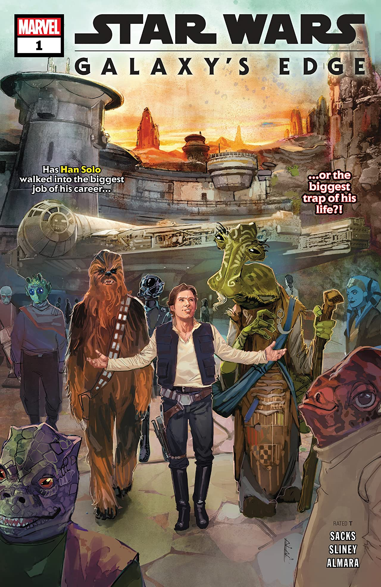 Star Wars: Galaxy's Edge (2019-) No.1 (sur 5)