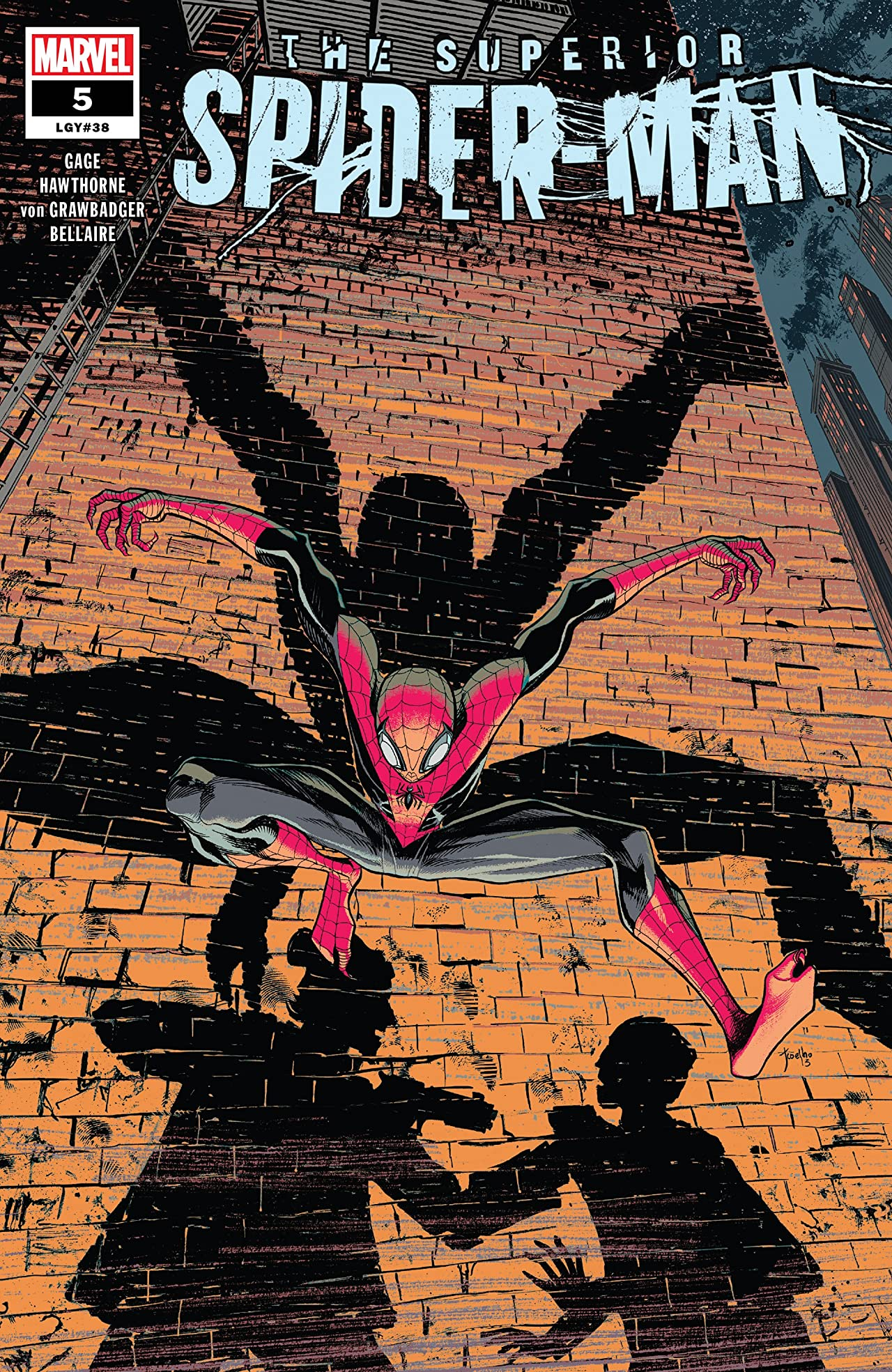 Superior Spider-Man (2018-2019) #5