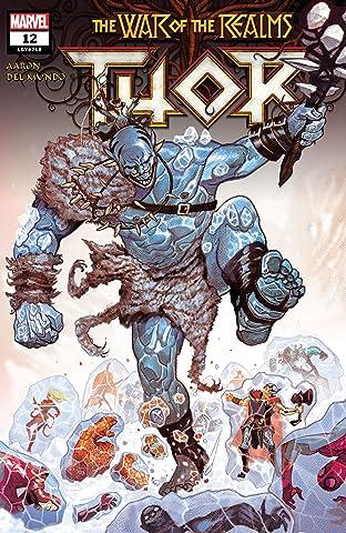 Thor (2018-2019) No.12
