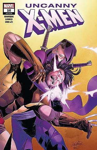 Uncanny X-Men (2018-) No.16