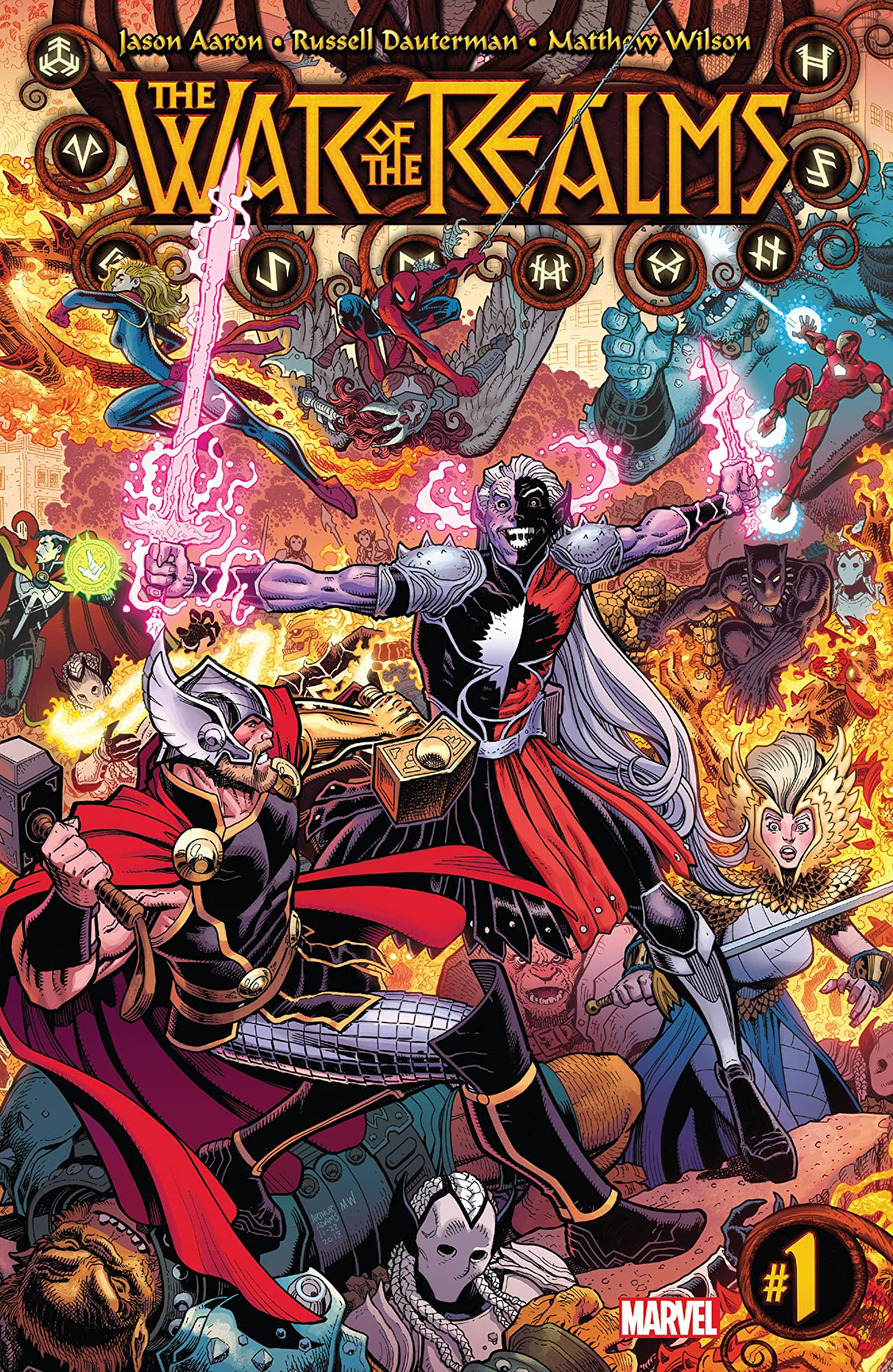 War Of The Realms (2019-) #1 (of 6): Director's Cut