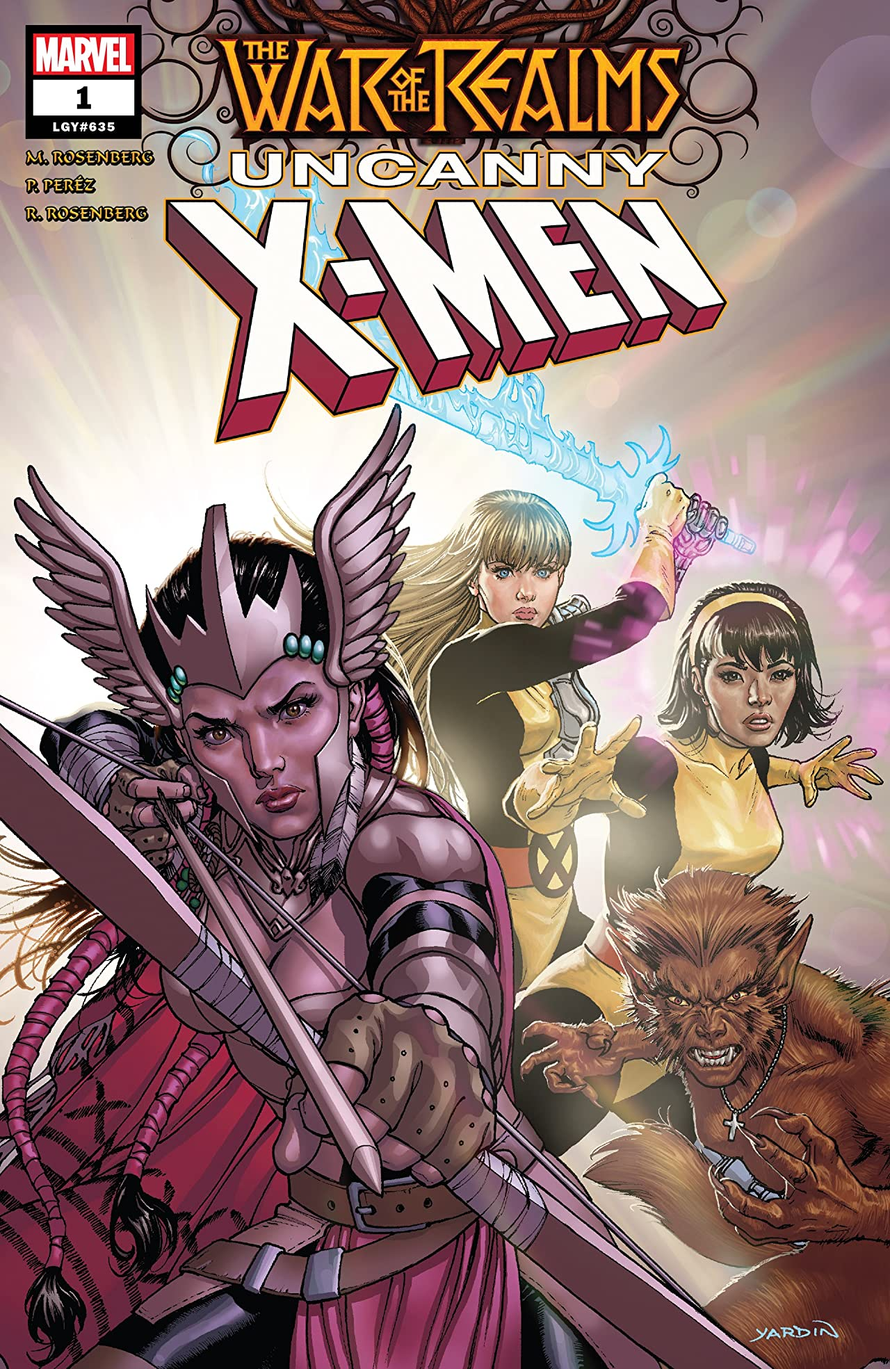 War Of The Realms: Uncanny X-Men (2019-) No.1 (sur 3)