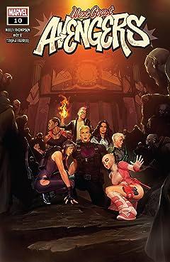 West Coast Avengers (2018-) #10