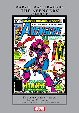 Avengers Masterworks Tome 19