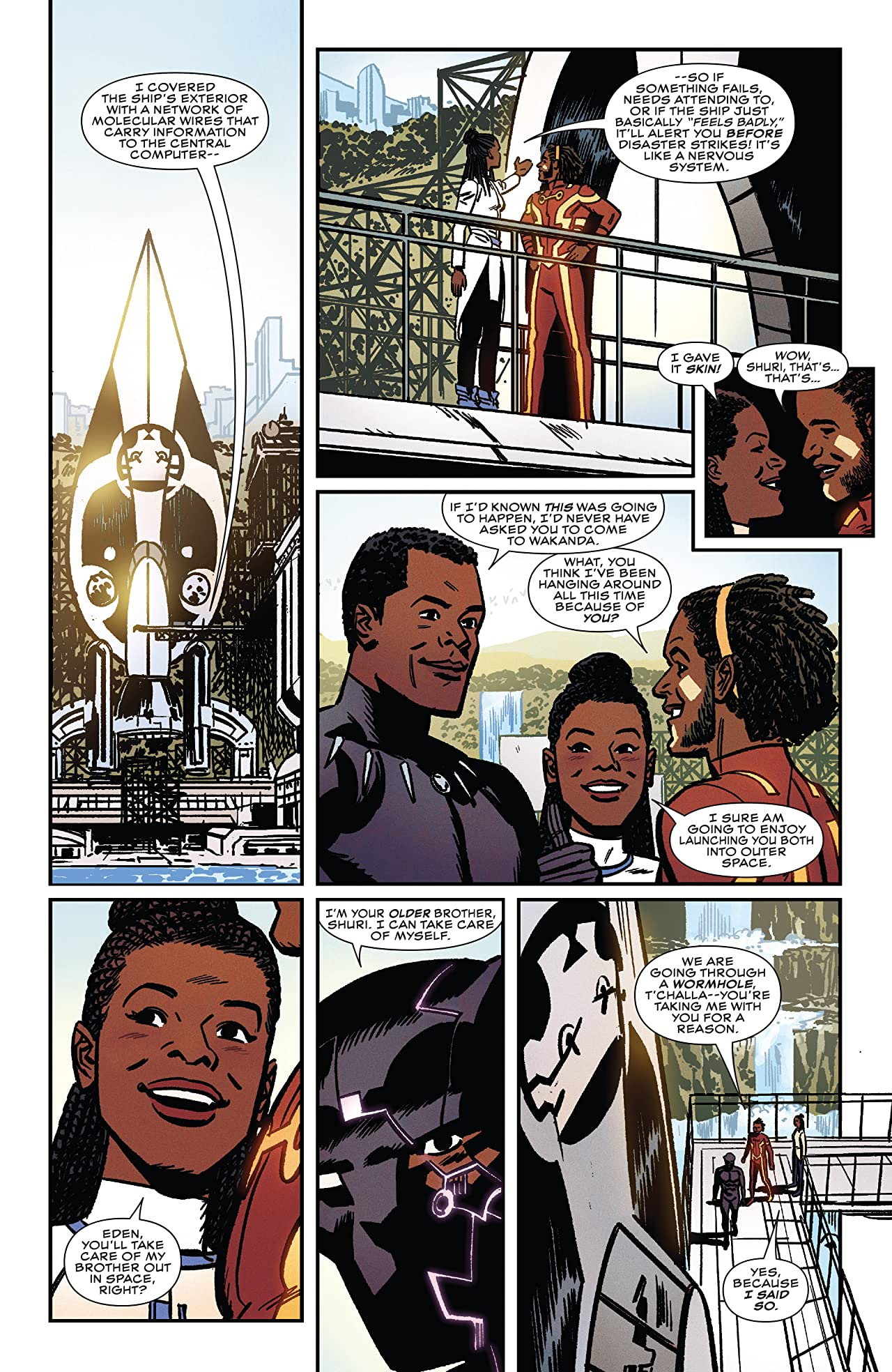 Shuri Tome 1: The Search For Black Panther