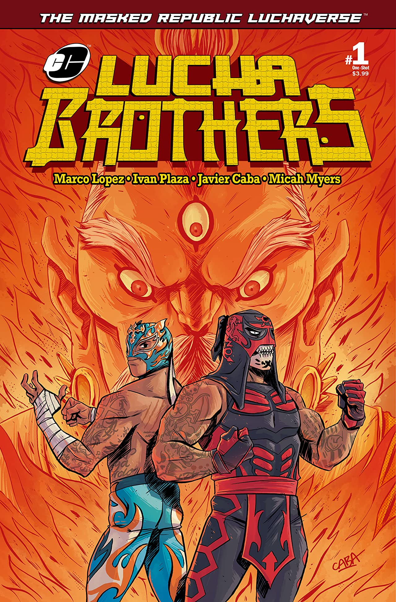 Masked Republic Luchaverse: Lucha Brothers #1