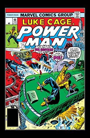Power Man (1974-1978) #40