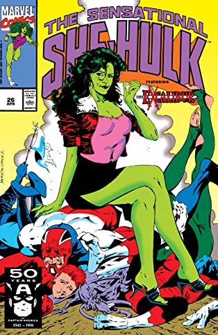 Sensational She-Hulk (1989-1994) #26