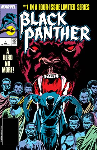 Black Panther (1988) No.1 (sur 4)