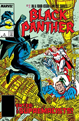 Black Panther (1988) No.2 (sur 4)