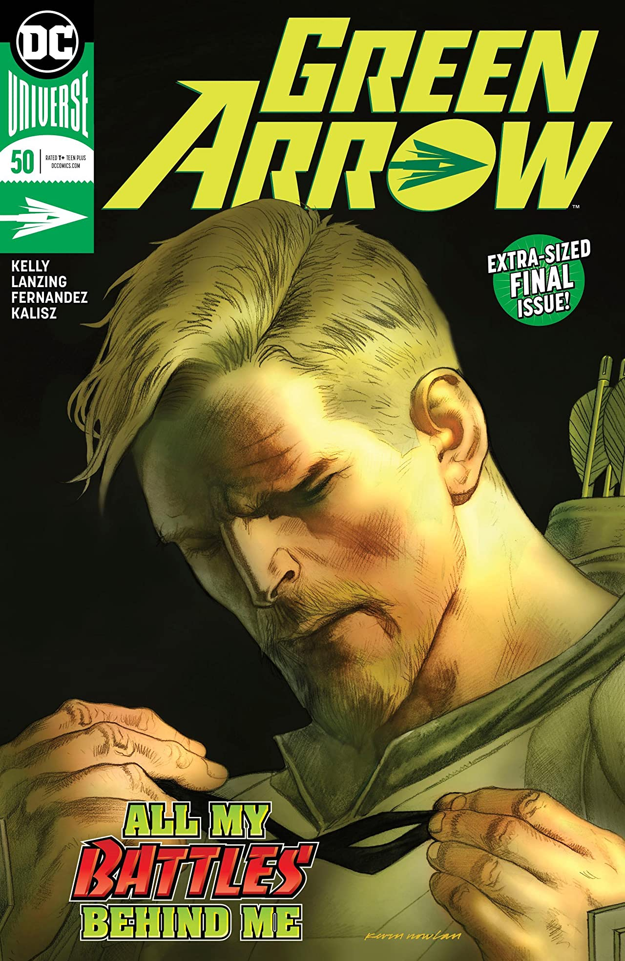 Green Arrow (2016-) No.50
