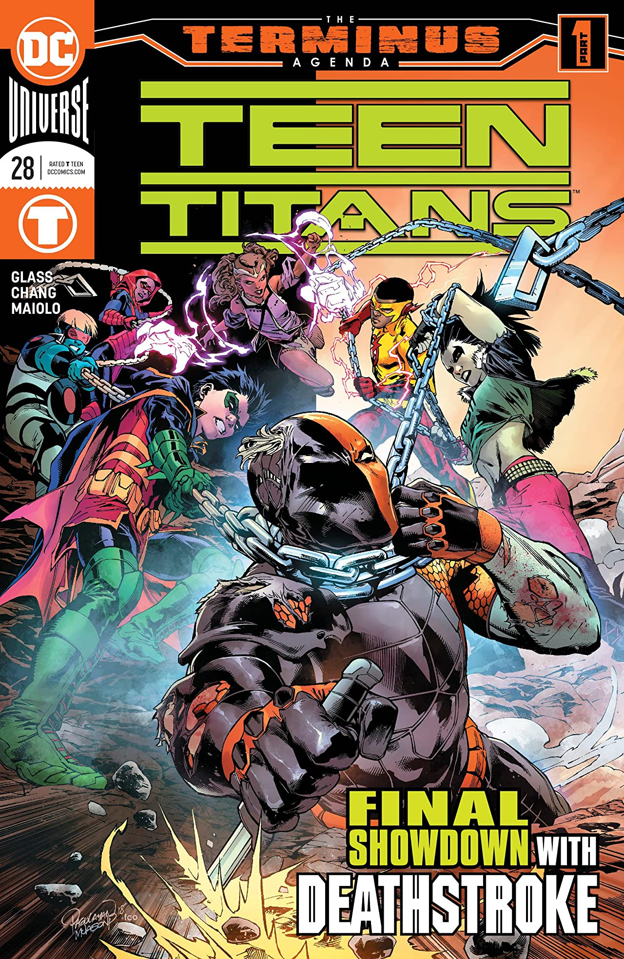 Teen Titans (2016-) No.28