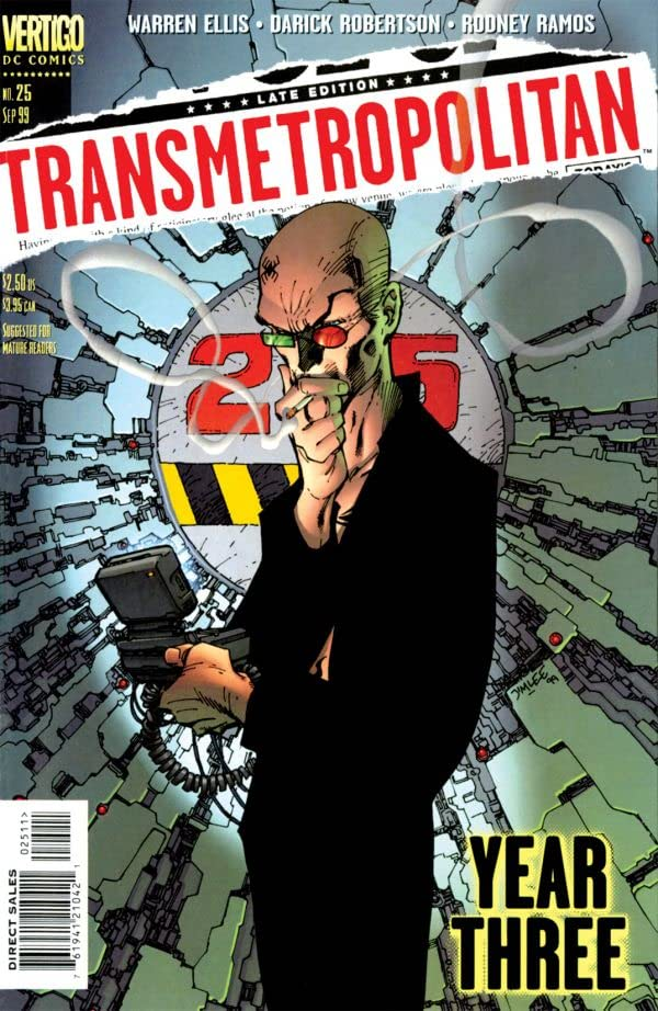 Transmetropolitan #25