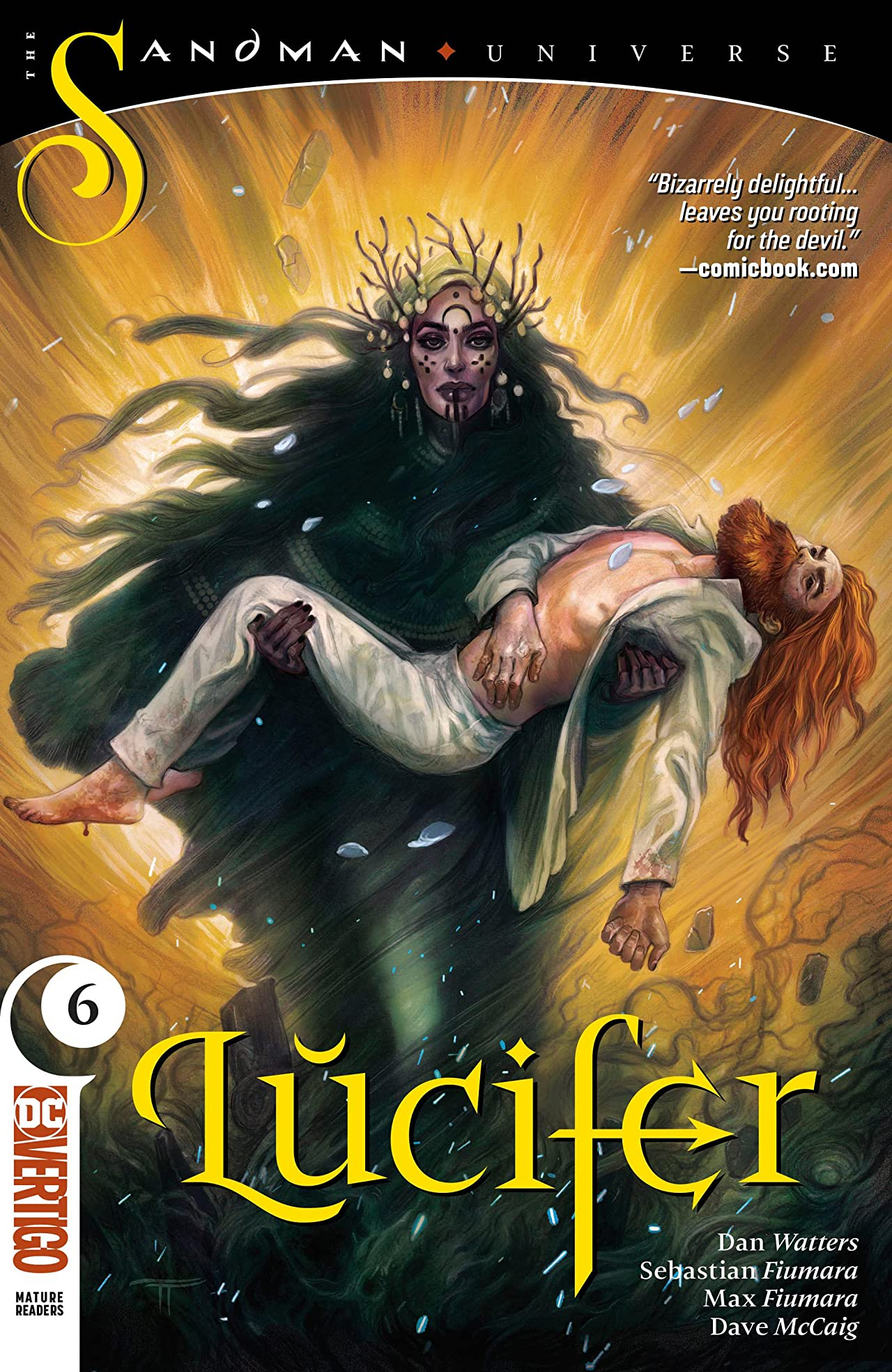 Lucifer (2018-) No.6