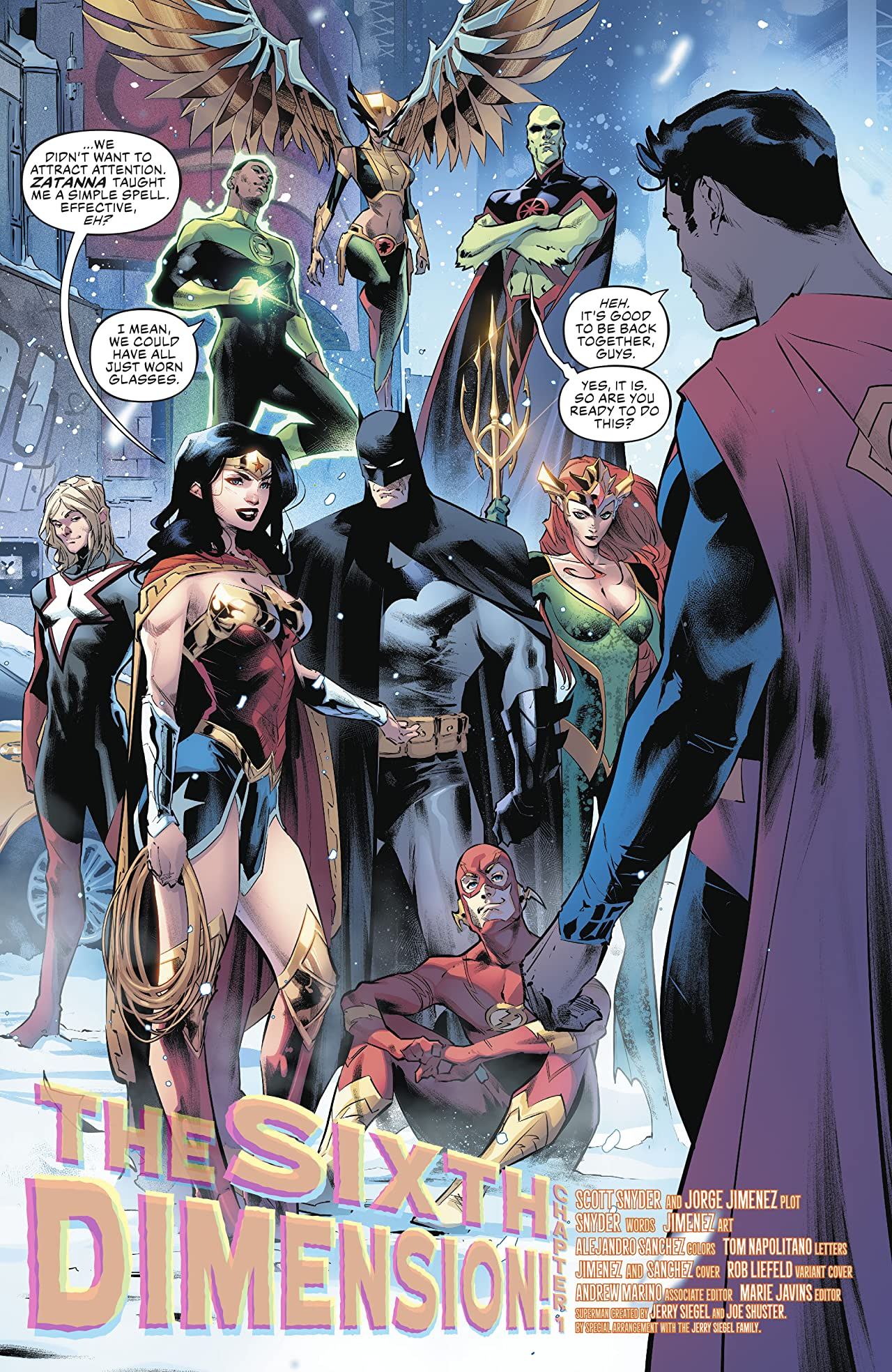 Justice League (2018-) No.19
